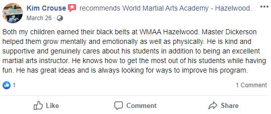 KIDS3, World Martial Arts Academy Hazelwood